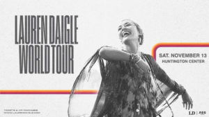 Lauren Daigle World Tour (Rescheduled) Promotional Image