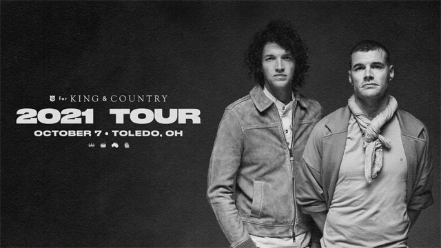 for King & Country (NEW 2021 DATE) Promotional Image