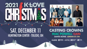 KLOVE Christmas tour featuring CASTING CROWNS Promotional Image