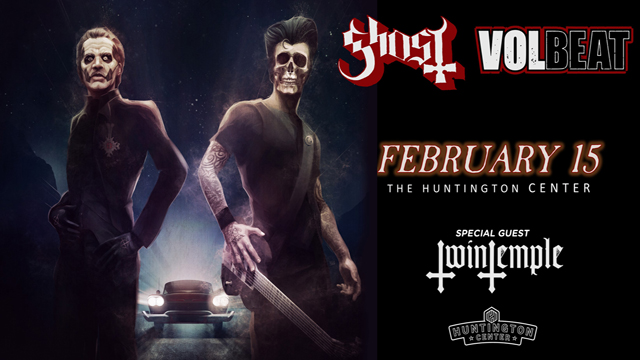 Ghost & Volbeat Promotional Image